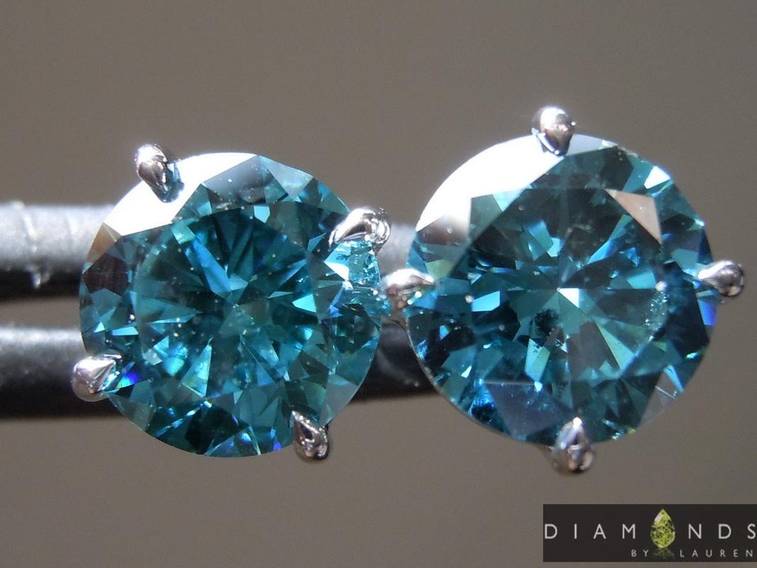 blue lab diamonds