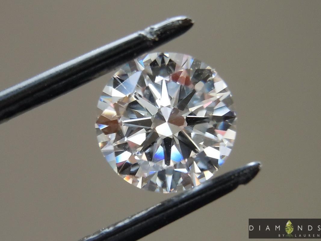lab colorless diamond