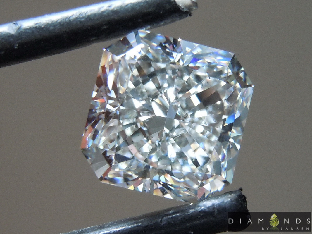 colorless lab diamond