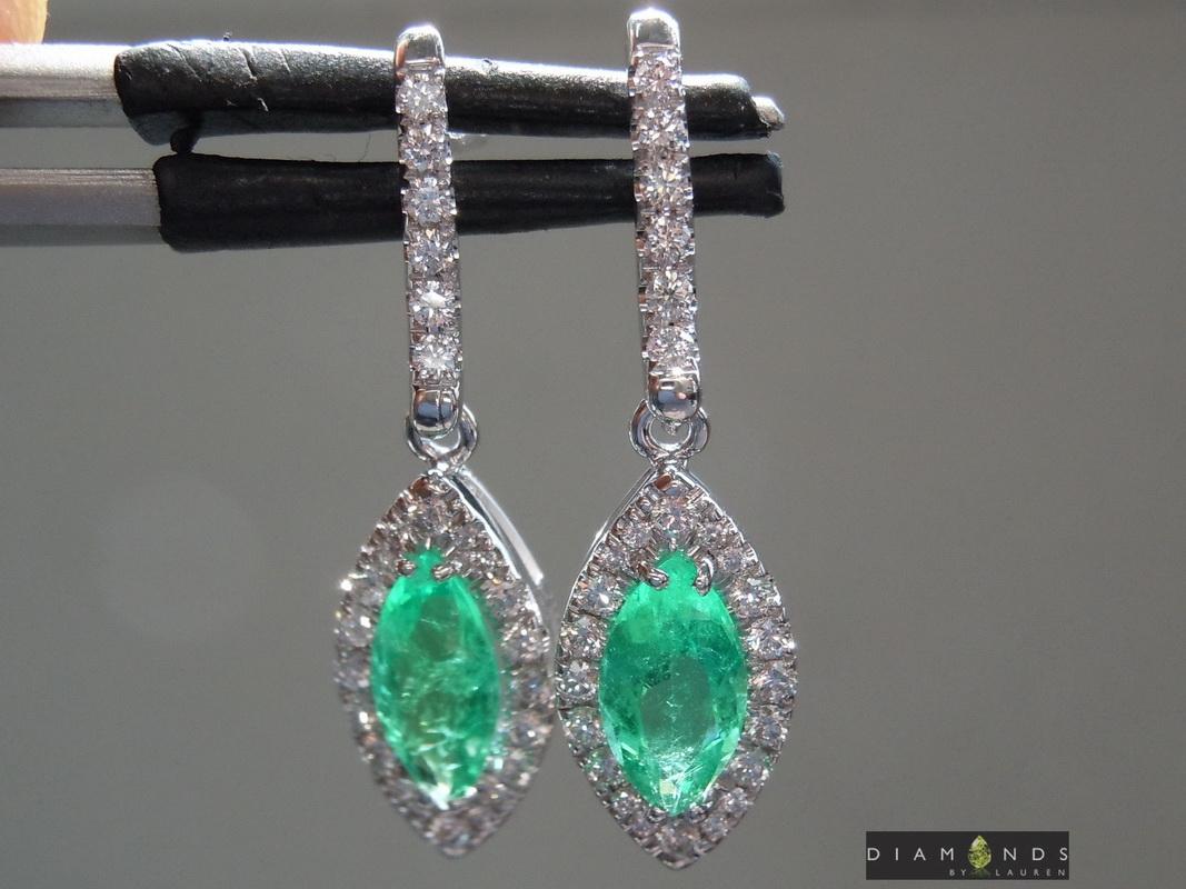 emerald and diamond earrings> <input name=