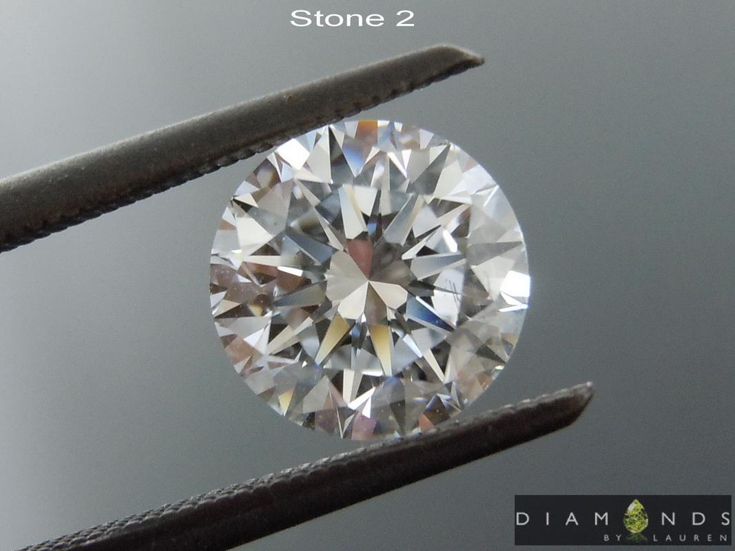 lab diamond errings
