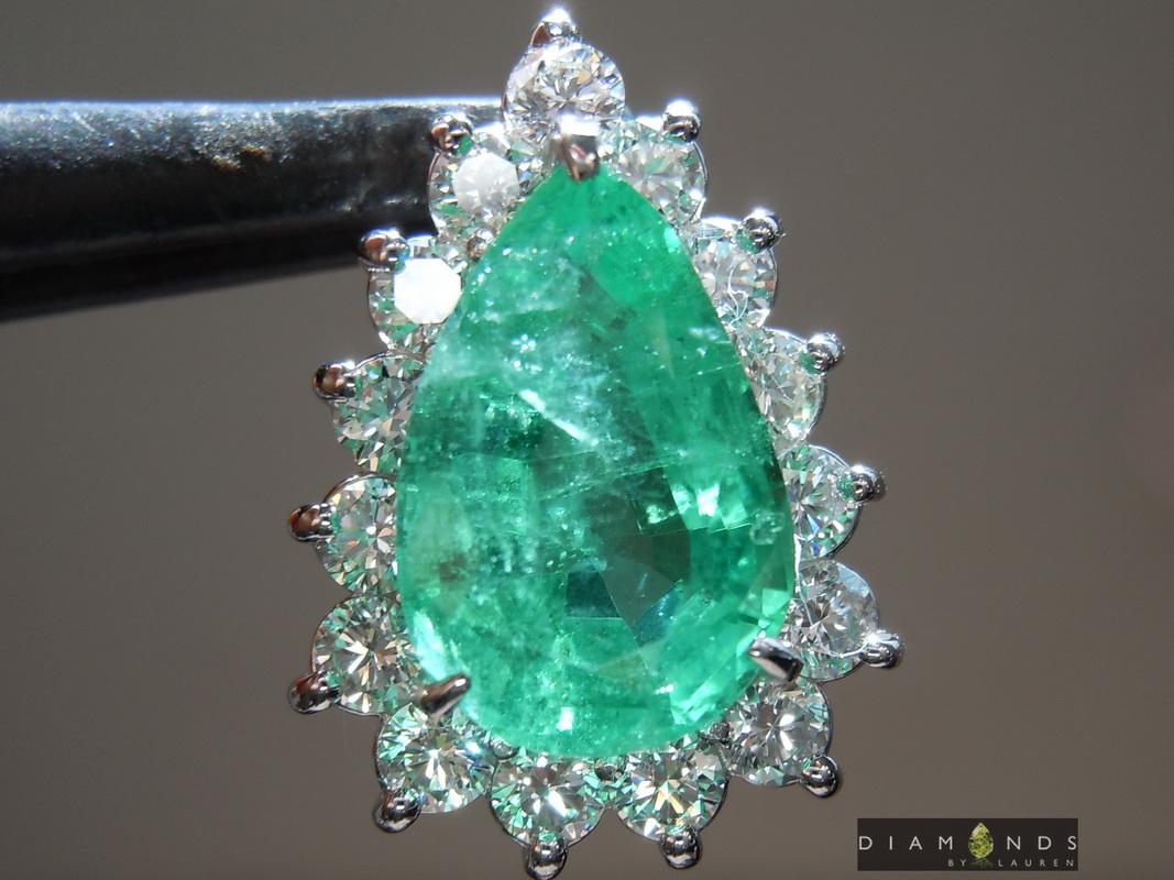 emerald pendant pendant