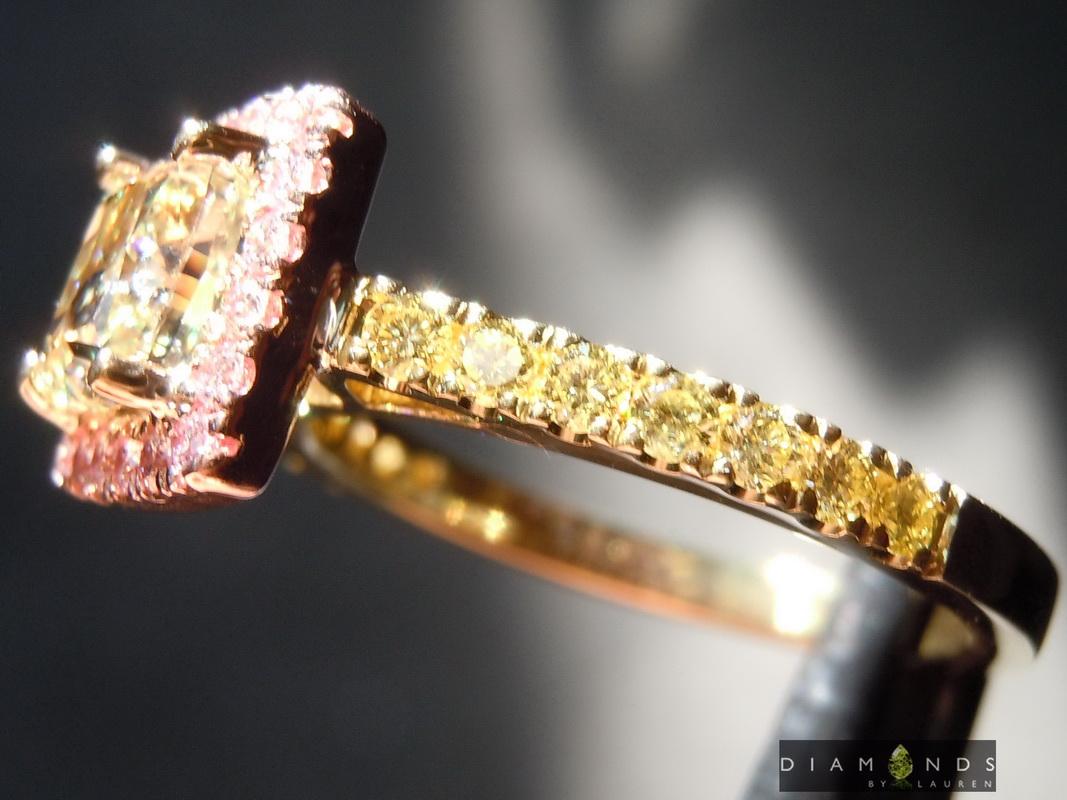 canarydiamond ring