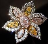 SOLD...1.14 VVS Pink Oval Diamond Ring GIA R1340