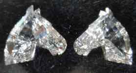 SOLD......Loose Diamonds: Matching Horse Head Diamonds- 1.57total weight R2665
