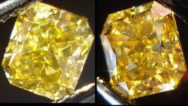 SOLD.....Loose Diamond:: 1.01ct Chameleon Radiant Diamond GIA Report R2811