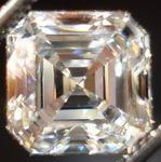 SOLD......Loose Diamond: 2.12ct F Internally Flawless Asscher Cut Diamond EXCELLENT Cut R2855