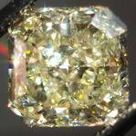 SOLD.....Loose Diamond: 3.60ct Fancy Light Yellow Radiant Diamond GIA- less filling R2965