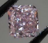 SOLD....Loose Diamond: .40ct Fancy Intense Pink GIA Radaint Diamond R2978