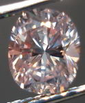 SOLD....Loose Diamond: .70 Fancy Brownish Pink Cushion Diamond GIA R2981