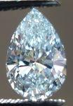 SOLD......Loose Diamond: 1.18ct Very Light Green Pear Diamond GIA looks Blue VS1 R3020