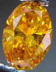 SOLD...Loose Diamond: .31ct Fancy Vivid Yellow-ORange Oval Diamond GIA AMaZING color R3019