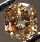 SOLD.....Loose Diamond: .89ct Natural Brown Diamond in Unusual Nice Cushion Cut R3026