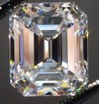 SOLD....Loose Diamond 4.05 G/VS1 Medium Blue Gem Emerald Cut Diamond GIA R3060