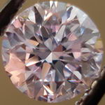 SOLD.....Loose PINK Diamond: .72ct Fancy Light Purplish Pink Round Diamond GIA Report R3068