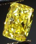 SOLD......Loose Diamond: .80ct Fancy Vivid Yellow Rectangular Brilliant GIA R3115