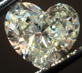 SOLD.... Loose Diamond: 1.89ct S-T Light yellow Heart Diamond GIA Lovely Shape R3160