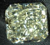 SOLD.....Loose Yellow Diamond: 6.15ct U-V Faint Yellow Radaint Diamond GIA R3167