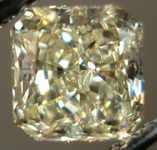 SOLD.....Loose Diamond: 1.01ct Natural Light Yellow Radiant Well Cut Budget friendly R3181