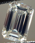 SOLD...Loose Diamond: .1.25ct O-P VVS2 GIA Emerald Cut Nice steps Strong Fluorescence  R3257