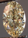 SOLD....Loose Diamond: 1.03 Long Tall Sally SI1 Oval  HONEY Color GIA Fancy Brownish Yellow R3308