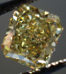 SOLD....Loose Diamond: 1.14ct Fancy Deep Brownish Greenish Yellow VVS2 Radiant Cut GIA Complex color R3337