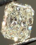 SOLD....Loose Diamond: 1.06 Light Yellow Radiant Diamond Great Value R3367