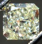 SOLD.....Loose Diamond: 1.00 Y-Z Radiant Diamond GIA Slightly Asymmetrical and NICE R3375