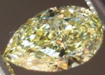 SOLD....Loose Diamonds: .53ct Fancy Yellow Internally Flawless Pear GIA R3386