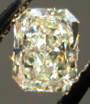 SOLD.....Loose Diamond: .45ct Radiant Light Yellow Nice Lemon Color R3402