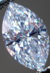 SOLD....Loose Diamond: 1.13ct F/Si1 Marquise- GIA Strong Blue- and it shows! R3428