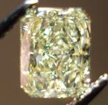 SOLD....Loose Diamond: 1.01ct Fancy Yellow Radiant SI1 GIA Sparkling Lemonade R3454