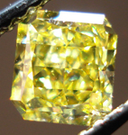 SOLD....Loose Diamond: .71ct Fancy Vivid Yellow Radiant SI1 GIA Gorgeous!!! R3466
