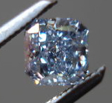 SOLD....Loose Diamond: .23ct Fancy Blue Radiant Cut GIA Rich color Great cut R3486