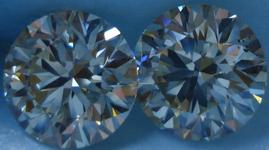SOLD....Diamond Earrings: 4.13ct MASSIVE Round Brilliant Studs CHOOSE QUALITY R3485