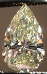 SOLD....Loose Diamond: 1.14 Fancy Light Yellow SI1 Pear Shape GIA Beautiful Stone R3494