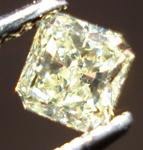 SOLD...Loose Diamond: .29ct Fancy Yellow Radiant Cut Diamond Lovely Shape R3443