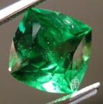 SOLD....Loose Tsavorite Garnet: Precision Cut 2.13ct Tsavorite Square Antique Cut Vibrant Green Color R3536