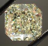 SOLD....Loose Diamond: 4.16ct Radiant Cut Fancy Light Yellow VS2 GIA WOW!! R3567