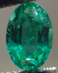 SOLD....Loose Emerald: Precision Cut 1.60ct Emerald Oval Shape Cut Beautiful Crystal R3547