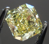 SOLD....Loose Diamond: .73ct Radiant Cut Fancy Intense Yellow VS2 GIA Stunning Stone R3583