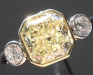 SOLD....2.02ct U-V VVS2 Radiant Cut Diamond Ring R7338