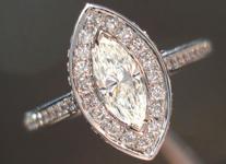 SOLD...0.36ct K VS1 Marquise Diamond Ring R3627