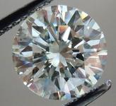SOLD....Loose Diamond: 2.30ct M color Round Brilliant- beautiful cut desirable size R3611