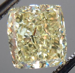 SOLD.....Loose Diamond: 1.62ct Radiant Cut Y-Z, Natural Light Yellow VS2 GIA Cool Cut R3651