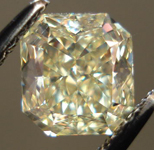 SOLD....Loose Diamond: 1.08ct Radiant Cut Fancy Light Yellow VVS2 GIA Great Cut R3670