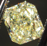 SOLD....Loose Diamonds: 1.11ct Radiant Cut Fancy Light Yellow VS1 GIA Gorgeous! R3671