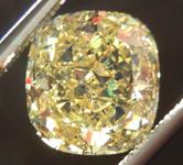 SOLD....Loose Diamond: 2.21ct Cushion Cut Fancy Intense Yellow SI2 GIA Cool Cut R3687