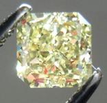 SOLD....Loose Diamond: .71ct Radiant Cut Fancy Light Yellow SI1 GIA Wonderful Sparkle R3707