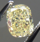 SOLD....Loose Diamond: .71ct Cushion Cut Fancy Yellow VS1 GIA Lovely Cut R3796